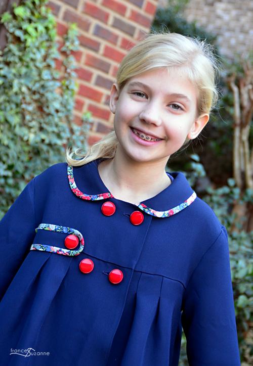 Frances Suzanne: P & M, Agatha Coat