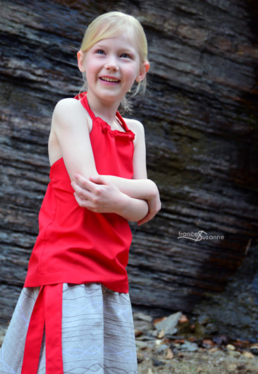 Sewing for Disney: Moana {Oliver + S, Ruffle Halter Top and Swingset Skirt}
